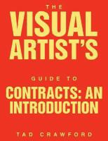 The Visual Artist's Guide to Contracts