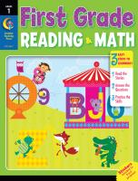 First Grade Reading & Math