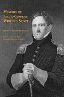 Memoirs of Lieut. -General Winfield Scott