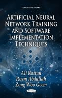 Artificial Neural Network Training and Software Implementation Techniques
