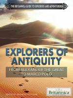 Explorers of Antiquity