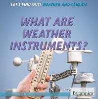 What Are Weather Instruments