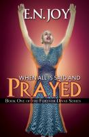 When All Is Said and Prayed