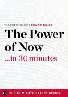 The Power of Now in 30 Minutes