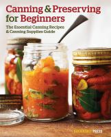 Canning & Preserving for Beginners