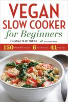 Vegan Slow Cooker for Beginners