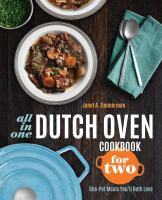 All in One Dutch Oven Cookbook for Two