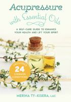 Acupressure With Essential Oils
