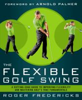 The Flexible Golf Swing
