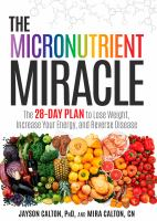 The Micronutrient Miracle