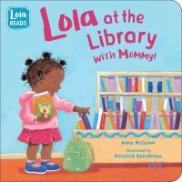 Lola at the Library With Mommy