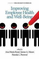 Improving Employee Health and Well-being