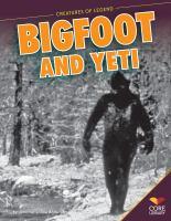 Bigfoot and Yeti