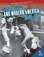 World War I and Modern America