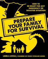 Prepare your Family for Survival