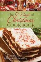 12 Days Of Christmas Cookbook