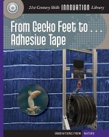 From Gecko Feet to ... Adhesive Tape