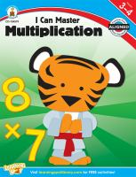 I Can Master Multiplication