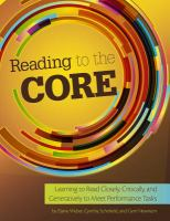 Reading to the Core