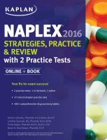 NAPLEX 2016 Strategies, Practice, & Review
