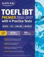 TOEFL IBT Premier