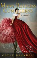 Many Restless Concerns: The Victims of Countess Báthory Speak in Chorus (a Testimony) / !c Gayle Brandeis