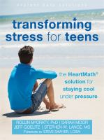 Transforming Stress for Teens