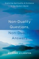 Non-duality Questions, Non-duality Answers