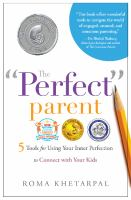 "The ""perfect"" Parent"