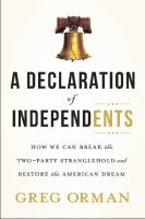 A Declaration of Independents