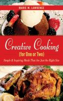 Creative Cooking for One or Two