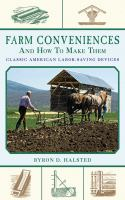 Farm Conveniences and How to Make Them