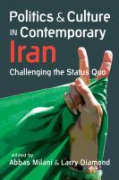 Politics and Culture in Contemporary Iran