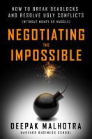 Negotiating the Impossible
