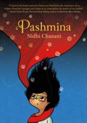 Pashmina book jacket