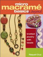Macramé Basics & Beyond