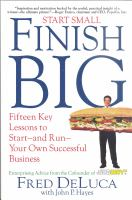 Start Small, Finish Big