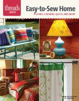 Easy-to-sew Home
