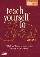 Teach Yourself to Sew