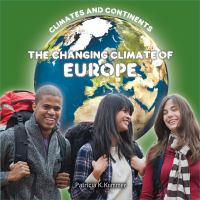 The Changing Climate of Europe