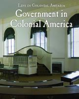 Government in Colonial America
