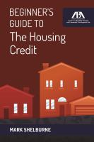 Beginner's Guide to the Housing Credit