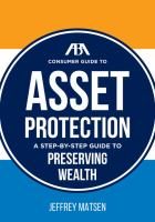 ABA Consumer Guide to Asset Protection