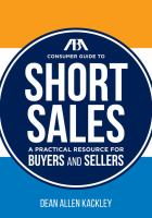 ABA Consumer Guide to Short Sales