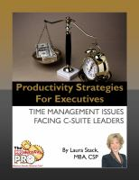 Productivity Strategies for Executives