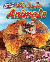 Shape-shifting Animals