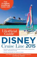 The Unofficial Guide to Disney Cruise Line 2015