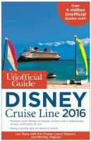 The Unofficial Guide to Disney Cruise Line 2016