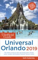The Unofficial Guide to Universal Orlando, 2019