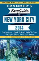 Frommer's Easyguide to New York City, 2014